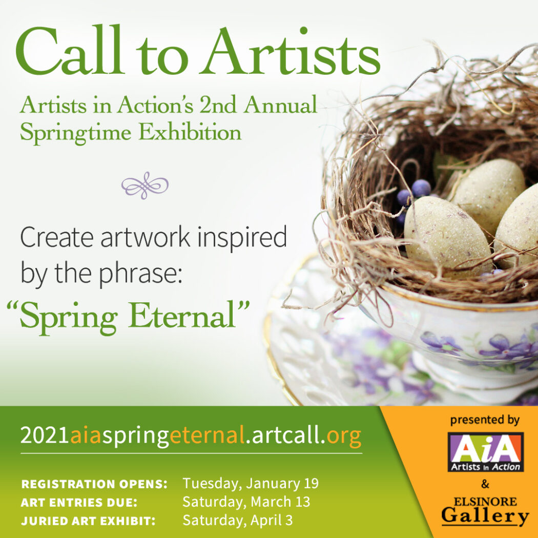 AiA Spring Eternal Call to Artists & Exhibit